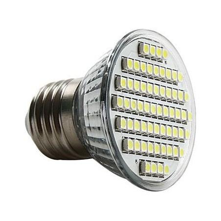 Lampada LED 60 SMD 5W E27 - Luce calda