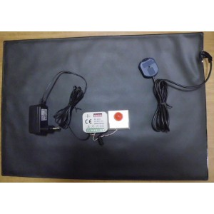 ART. 120013 - KIT Tappeto Sensibile completo N.A. - Dimensioni 35x50cm - mod. GHOST CARPET