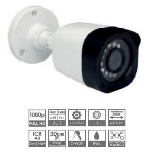 Telecamera Bullet Ris. 1920x1080 Lente 3,6mm IR 15m