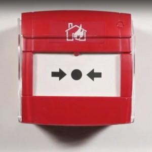 Pulsante allarme incendio CP102RC