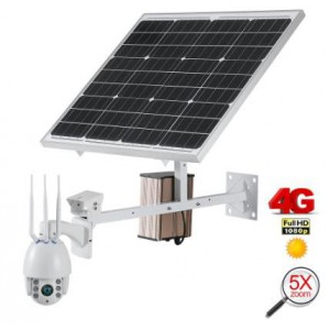 ART. 509060 - Speed Dome WiFi 4G con Pannello solare mod. MCD001FHD