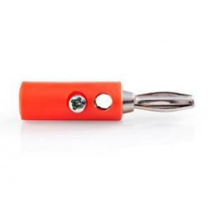 450704 - Connettore a BANANA colore rosso