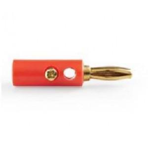450706 - Connettore a BANANA colore rosso