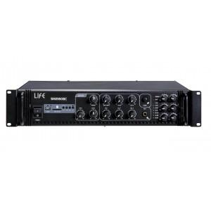 ART. 470030 - AMPLIFICATORE 6 ZONE 180W CON PORTA USB/SD
