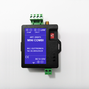 ART. 250073 - Combinatore Telefonico GSM 1 Ingresso - mod. MINI COMBI