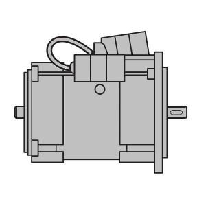 ART. 690445 - Motore elettrico monofase da 0,5CV per MEC 200