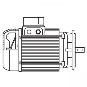 ART. 690365 - Motore elettrico trifase da 1,5CV per MEC 200