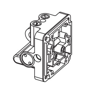ART. 640285 - Corpo valvola bidirezionale per Combi 740