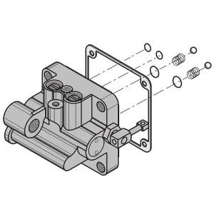 ART. 640286 - Corpo valvola bidirezionale completa per Combi 740