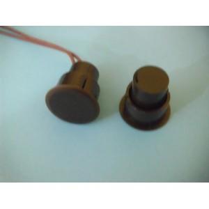 ART. 270256 - Sensore magnetico da incasso NC per porte blindate mod. MC-RD036M2