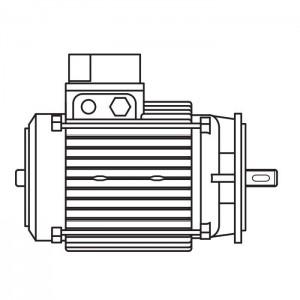 ART. 690430 - Motore elettrico trifase da 1CV per MEC 200