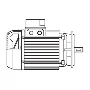 ART. 690449 - Motore elettrico trifase da 1CV per MEC 200
