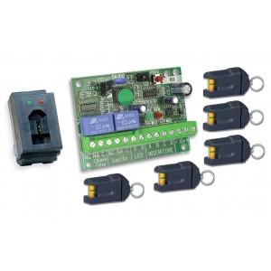 ART. 230215 - Kit chiave elettronica mod. SK103L-5K