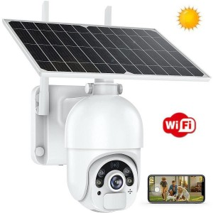 ART. 509084 - Speed Dome WiFi con Pannello solare mod. MCD005FHD