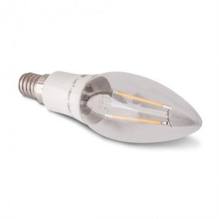 Lampada LED 2W E14 a filamento