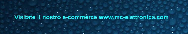 Nuovo sito e-commerce www.mc-elettronica.com