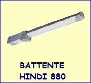 Motori cancelli battente Hindi 880