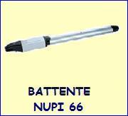 Motori cancelli battente Nupi 66