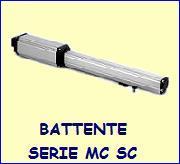 Motori cancelli battente serie MC-SC