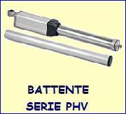 Motori cancelli battente serie PHV