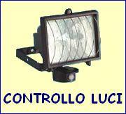 Controllo luci