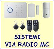 Sistemi via radio economici