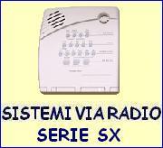Sistemi via radio serie SX