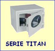 Casseforti serie Titan